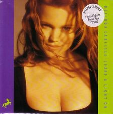 BRAND NEW UNPLAYED, MINT, BELINDA CARLISLE LIMITED ED POSTER PACK LEAVE A LIGHT