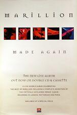 Marillion 1996 Made Again Original Promo Poster