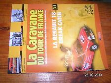 ¤ Fascicule Caravane Tour de France n°31 R18 CATCH Poulidor Robic Tour de 1954