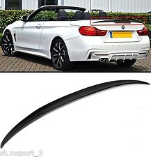 BMW F33 F83 CONVERTIBLE ABS SPOILER 3 SERIES BOOT TRUNK M4 REAR PERFORMANCE