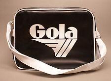 Gola Redford Alt Bag Black White CUB416 Schultertasche Laptoptasche schwarz weiß