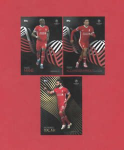 Topps Champions League Knockout 2021 (2020/21) - Complete 3 Card Base Team Sets