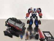 Transformers Maketoys Battle Tanker Add-On Kit w/ Optimus 99% Complete