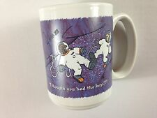 Space Mug VTG 1995 I Thought You Had The Keys Funny 90s Cup Astronaut Goals Gift