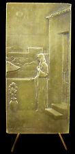 Médaille Sainte Geneviève veillant sur Paris Pierre Puvis de Chavannes medal