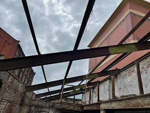 Large Shed STEEL FRAME Lean To ROOF Purlins Rafters INDUSTRIAL Heavy Duty Farm