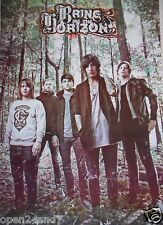 """BRING ME THE HORIZON """"GROUP STANDING IN FOREST"""" ASIAN POSTER - Metalcore Music"""