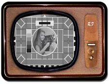 Vintage Television Mouse Mat. The Test Card TV Novelty Mouse Pad
