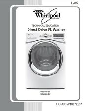 Whirlpool Duet Direct Drive FL Washer Washer Service - Repair Manual