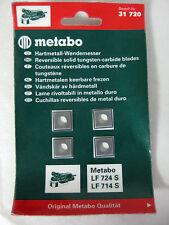 Metabo Hartmetall Wendemesser 4er-Pack 6.31720.00 , 31 720 , LF 724 S LF 714 S