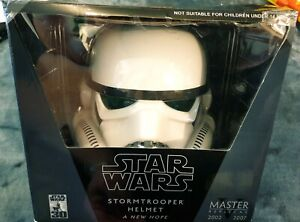 Masters Replica Star Wars  Stormtrooper Helmet A New Hope Full Scale Replica