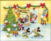 Redonda 1983 Disney/Christmas/Greetings/Minnie/Donald/Cartoons 1v m/s (b1480m)