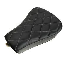 Diamond Driver Front Solo Seat Cushion For Harley Sportster XL1200 72 2012-2015