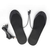 1 par Plantillas Calefactadas USB Plantillas Calzado Invierno al aire li Nj