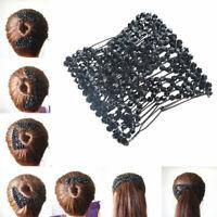 Afrikanische Haarklammer Haarspange Haarkamm Haarclip Schwarz