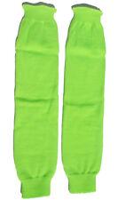 Knee High Knit Leg Warmers Thick Costume Dancer Hosiery Retro 80s Neon LW101