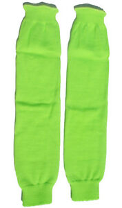 Leg Warmers Knee High Knit Thick Cozy Neon 80s Retro Dance Party Costume LW101