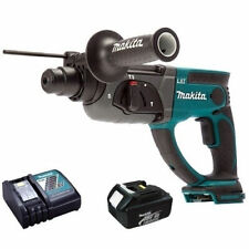 Makita DHR202Z 18V SDS+ Rotary Hammer with 1 x 4.0Ah BL1840B Battery & Charger