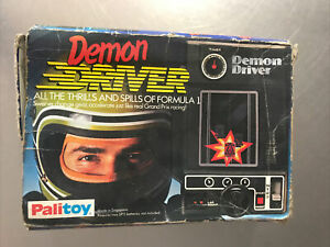 Vintage Hand Held DEMON DRIVER Palitoy Boxed 1978