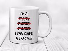 I'm A Farmer I Can Drive A Tractor Mug Cup Funny Farm Yard Work Gift - 320ml
