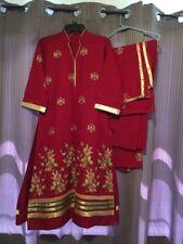 Pakistani/indian Salwar Kameez Cotton Beautiful Suit 3pc