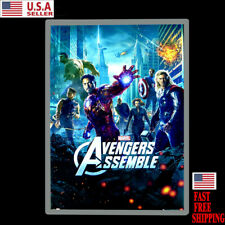24x34 Movie Poster Led Light box Display Frame Store Advertising Sign Ads Photo