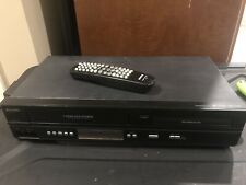 Philips VCR DVD Combo Player 4 Head Hi-Fi Dolby With Remote DVP3345VB/F7 EUC