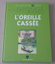 Herge    ARCHIVES  TINTIN  **   L'OREILLE CASSÉE   **    NEUF/CELLOPHANE
