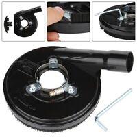 """US 5"""" Black Dust Shroud Suction Hood Tool For Angle Grinder Concrete Grinder"""