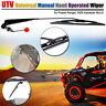 UTV ATV Manual Hand Operated Windshield Wiper For Polaris Ranger RZR 900   kk
