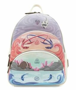 Nickelodeon Avatar 4 Elements Mini Backpack SHIPPED Order FREE SHIPPING