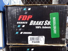 BRAND NEW FDP P445B REAR BRAKE SHOES FITS VEHICLES ON CHART