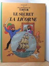 TINTIN par HERGE LE SECRET DE LA LICORNE B40 1973 TBE!