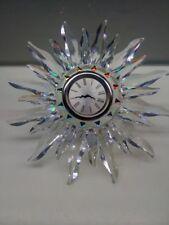 Incredible Swarovski Crystal Solaris/Sun Desk Clock - Retired