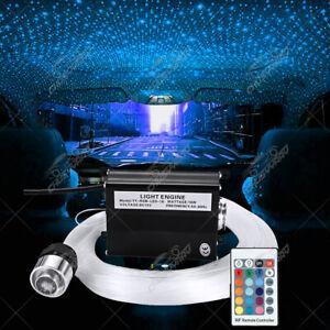 12V DIY Audio Fiber Optic Star Light kit For Car Headliner Roof Ceiling Lights