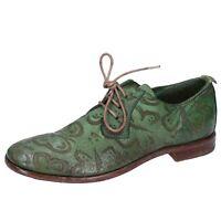 scarpe donna MOMA EU 37 classiche verde pelle DZ854