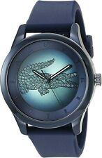 Lacoste Women's 2000919 Victoria Analog Display Japanese Quartz Dark Blue Watch