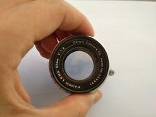 objectif Canon 50mm f/1.8 LTM Très bon état
