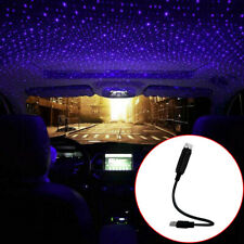 1x USB Light Car Roof Atmosphere Ambient Projector Star Sky Light Accessories