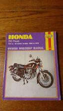 Honda 750 Fours  1969 to 1979 Haynes Repair Manual