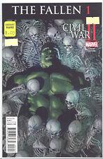 Civil War II Fallen #1 (1:50) Leinel Yu Variant Marvel Hulk Death Thor Ragnarok