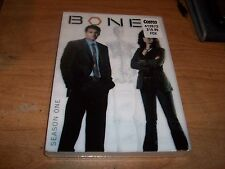 Bones Season One 1 (DVD, 2009, 4-Disc Set, Dual Side) Drama TV Show NEW