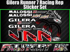GILERA Runner 7 Pegatinas ocurridas FX FXR SP VX VXR ST 50 70 125 172 180 MALOSSI