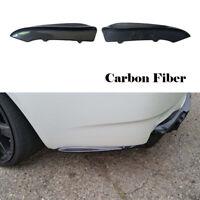 2xCarbon Heck Splitter Flaps für BMW E92 E93 M3 08-13 Hinten Stoßstangen Spoiler