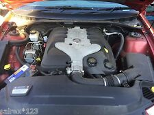 COMMODORE VZ SV6  ALLOYTEC MOTOR ENGINE . WRECKING ALL PARTS HOLDEN 114,000 KLMS