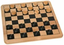 Cardinal Solid Wood Checkers , New, Free Shipping