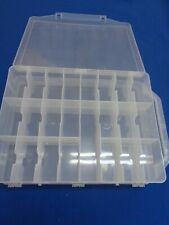 46 Compartment Double sided Craft  Fishing Organizer Plastic Storage Container