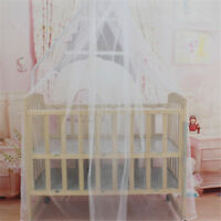 Baby Bed Mosquito Net Mesh Dome Curtain Net for Toddler Crib Cot Canopy B0IT