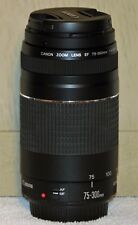 Canon EF Zoom Lens 75-300mm f|4-5.6 III - FREE SHIPPING