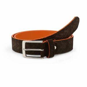 Sparco Maranello Brown Belt in Suede